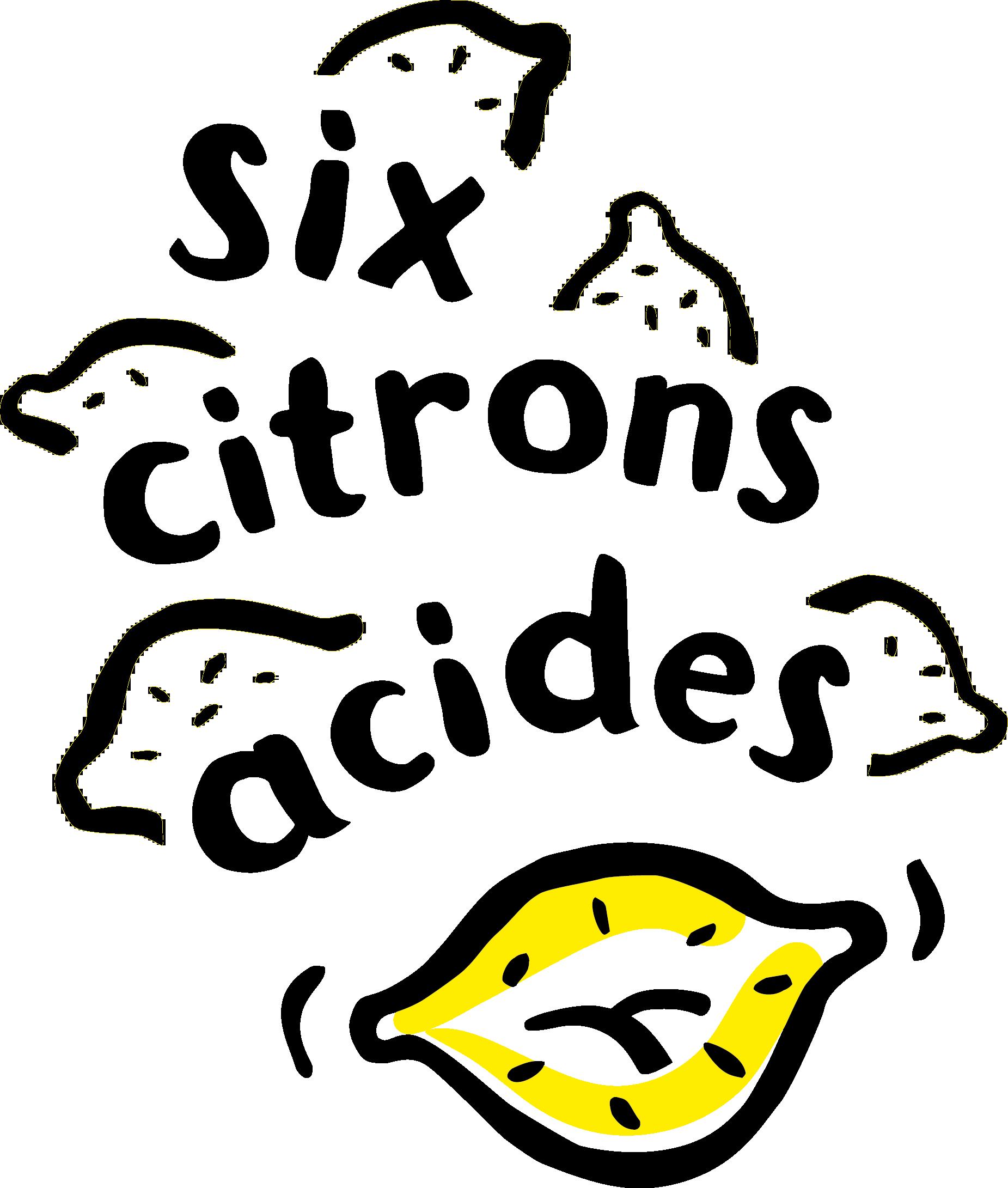 logo six citrons acides_genrerique_noir et jaune 2